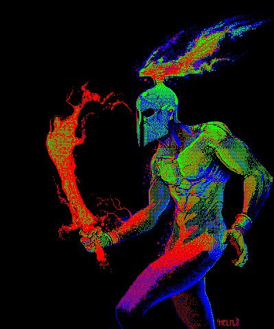 helm-pixel-art