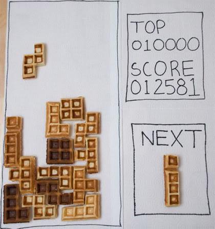 Waffle-tetris