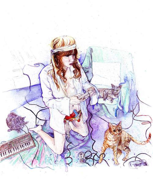 girl-kitten-console-sarah-larnach