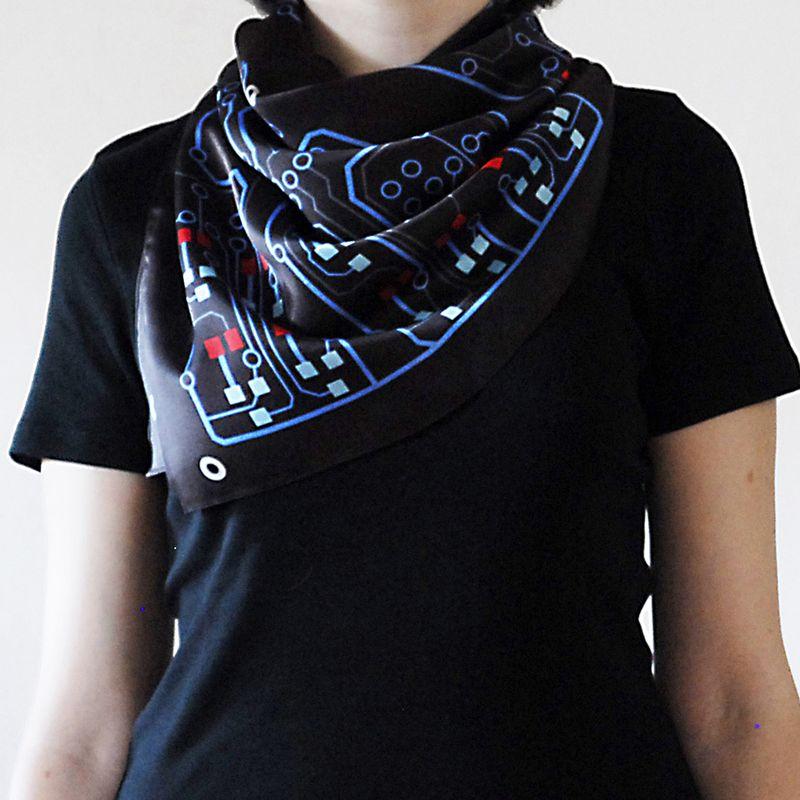circuit board scarf