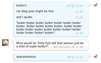 Butter Butter Butter
