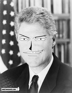 The Faces of Anime - Bill Clinton